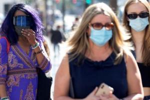 新冠病毒delta变异毒株蔓延 美国多州开始重新实施口罩的规定